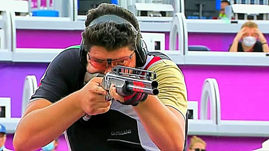 Jorge Orozco, a un paso del bronce en Tiro de Fosa
