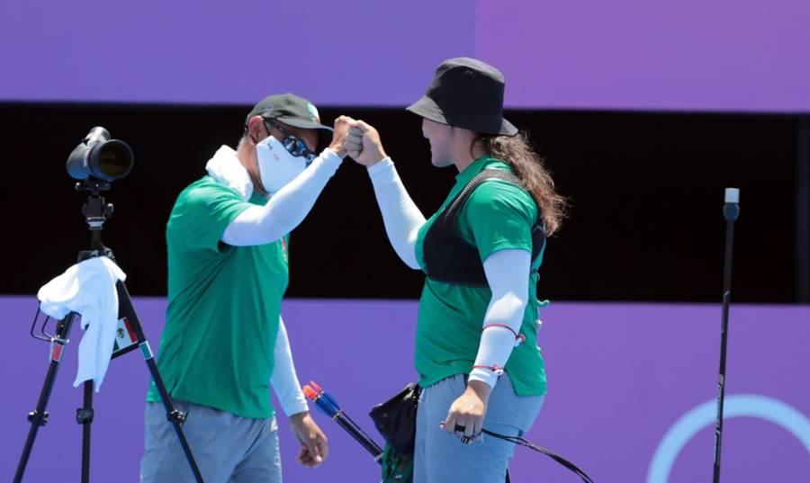 Alejandra Valencia accede a octavos de final en tiro con arco olímpico