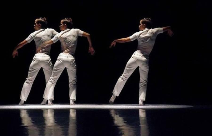Este es el cartel del Festival Internacional de Danza Contemporánea CDMX