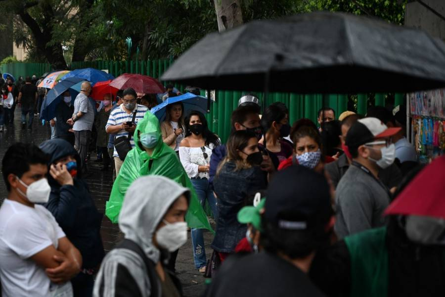 CDMX: Emiten alerta amarilla en 10 alcaldías por fuertes lluvias