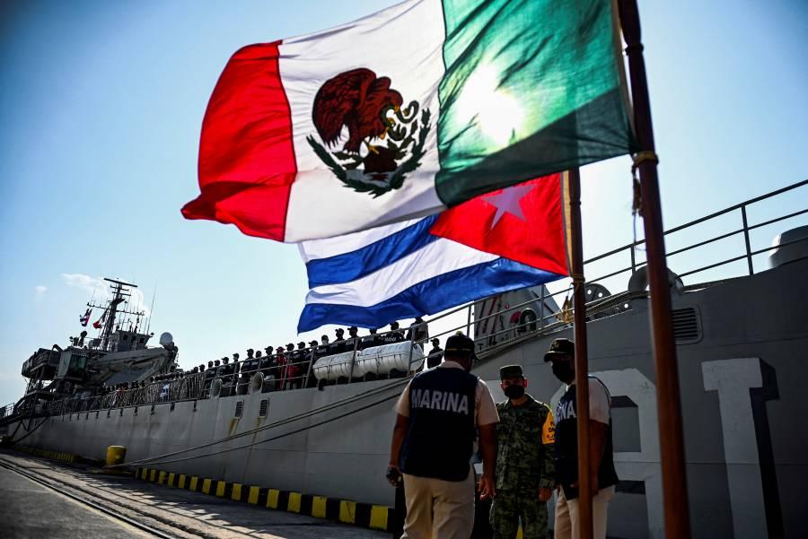 Llegan a La Habana donaciones de México y Bolivia