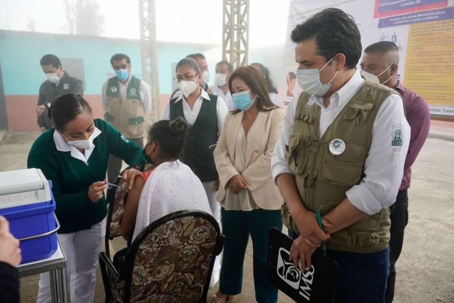 Zoé Robledo: Chiapas ya no ocupa el último lugar en vacunación contra el Covid-19