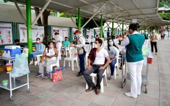 Vacunación contra Covid-19 en Chiapas avanza entre autoridades federales y locales: Zoé Robledo