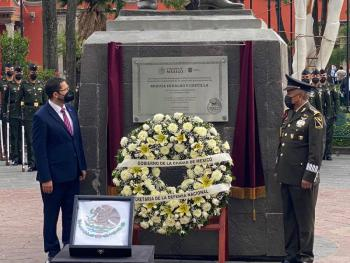Con los ideales de Miguel Hidalgo, se forja el México actual: Martí Batres
