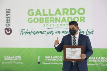 Ratifica Tribunal Electoral validez de la constancia de mayoría de Gallardo