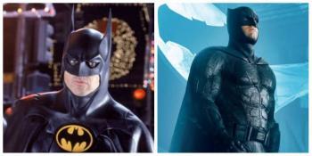 ¿Batman vs Batman? Michael Keaton y Ben Affleck se enfrentarían en The Flash