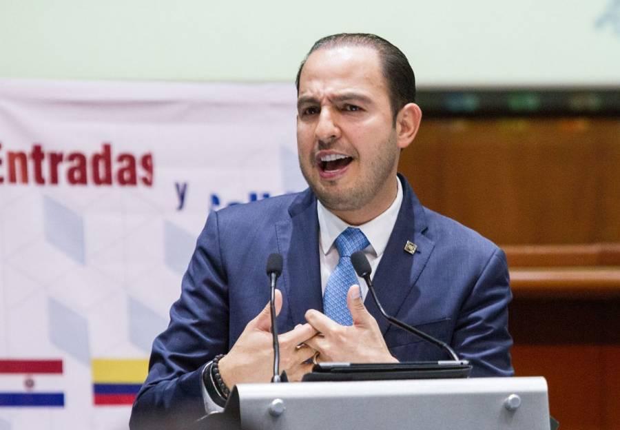 Marko Cortés, presidente del PAN, da positivo a Covid-19