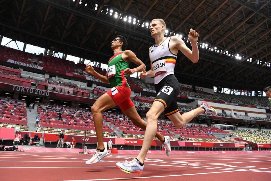 Tonatiu López, a semifinal de 800 metros tras ganar su serie en Tokio 2020