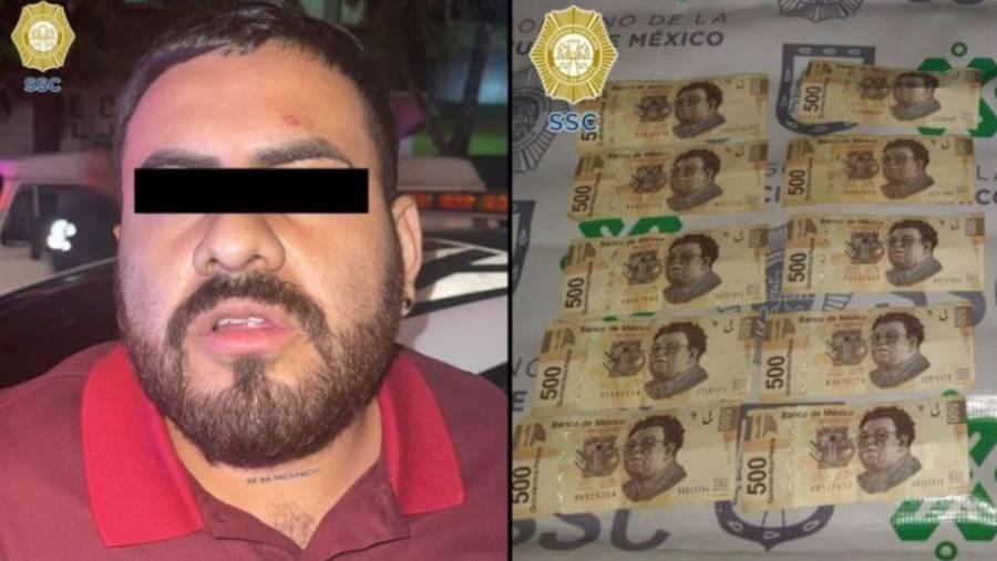 """Cae """"El Barbas"""", presunto extorsionador de La Unión Tepito"""