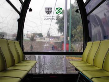 Cablebús invita a usar la red gratuita de internet dentro de sus cabinas