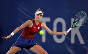 Belinda Bencic, tenista suiza, ganó el oro en individuales de Tokio-2020