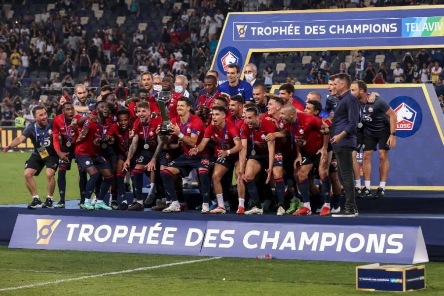 Lille derrota al PSG y conquista la Supercopa de Francia
