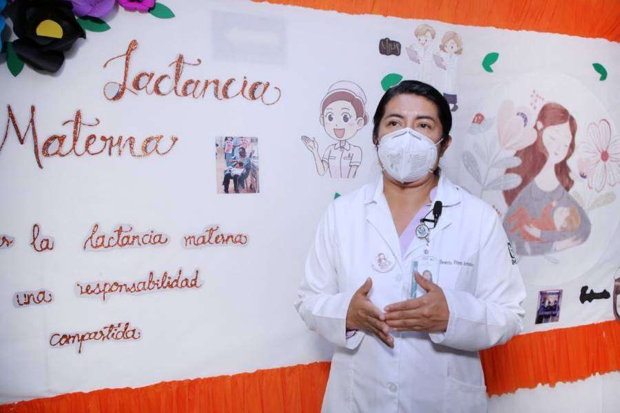 Leche materna, primera vacuna y más grande regalo de amor de una mamá a su recién nacido: IMSS