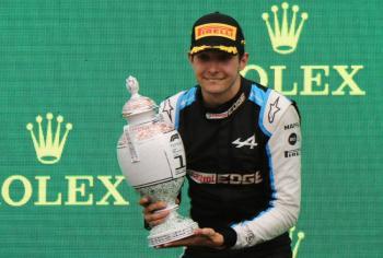 Esteban Ocon entra en el Olimpo de la F1; se lleva el GP de Hungría