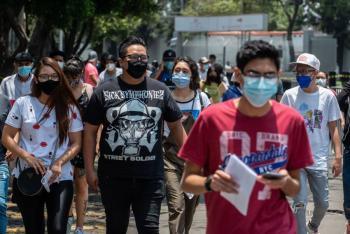 Reporta México 6 mil 740 casos más de Covid