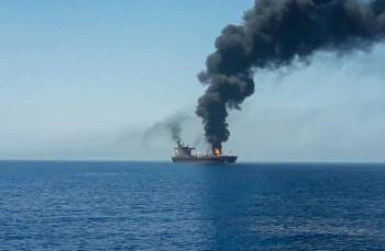 Acusa EEUU que Irán está detrás de ataque a barco petrolero