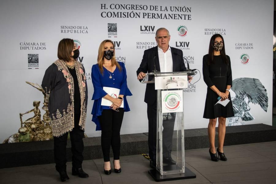 """Senadores del PAN califican de """"rotundo fracaso"""" la consulta popular"""