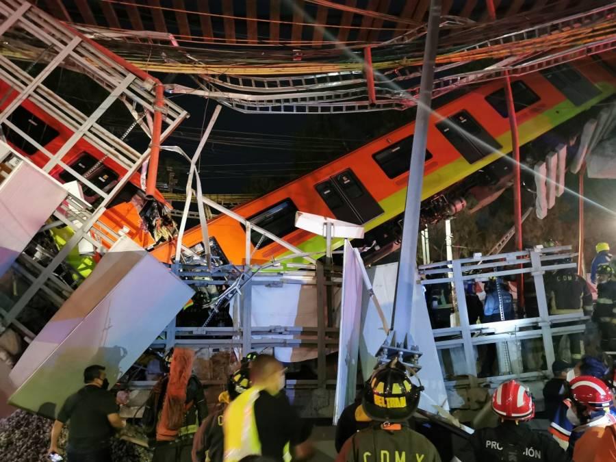 Carlos Slim se portó a la altura; reparará el tramo de la línea 12 del Metro sin cargo al erario