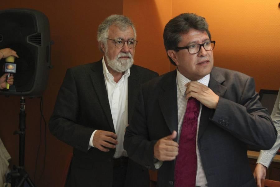 Por desafuero de Saúl Huerta, chocan Alejandro Encinas y Ricardo Monreal
