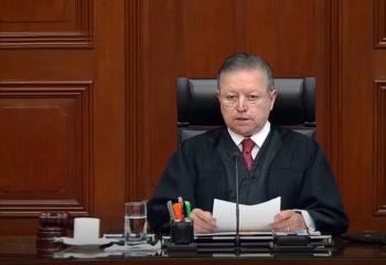 SCJN resolverá este mes sobre constitucionalidad de extender mandato de Zaldívar