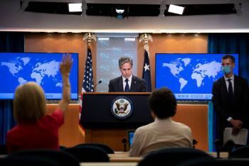 """Por ataque a barco petrolero, EEUU promete """"respuesta colectiva"""" contra Irán"""