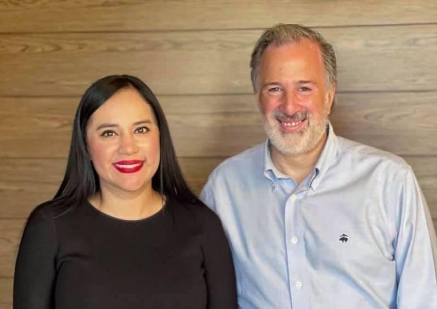Sandra Cuevas suma a sus alianzas a José Antonio Meade