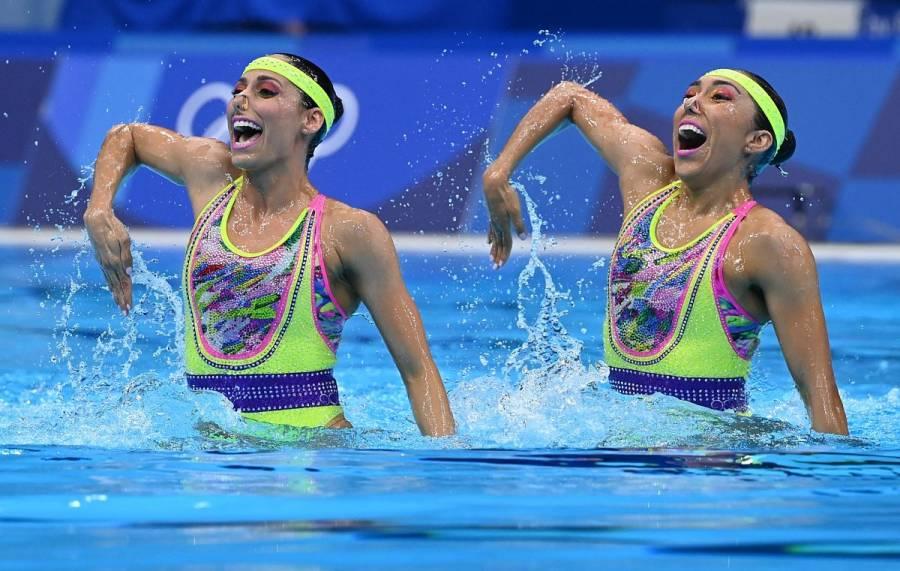 Nuria Diosdado y Joana Jiménez clasifican a la final de natación artística en Tokio 2020
