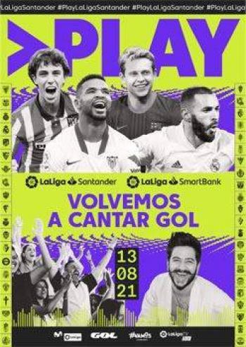 Camilo canta tema oficial del campeonato de futbol español LaLiga