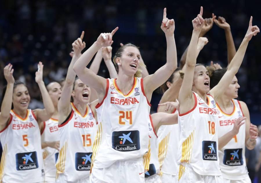 En el básquet femenil, España pierde contra Francia en los cuartos de final