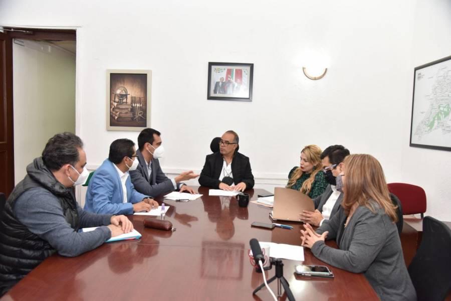 Mauricio Tabe exige revisar construcciones irregulares en Miguel Hidalgo