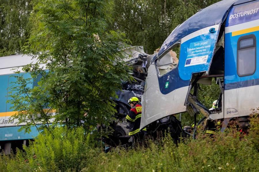 Tres muertos debido a un choque de trenes en República Checa