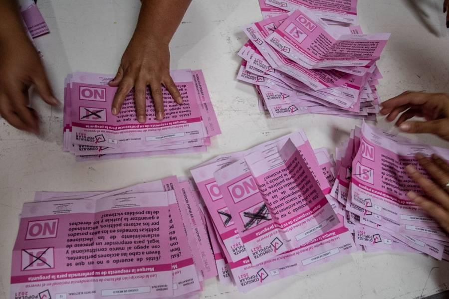 INE rechaza acusaciones y descalificaciones de AMLO por Consulta Popular