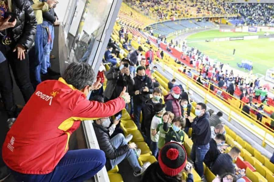 Tras violencia Bogotá cierra los estadios de fútbol al público