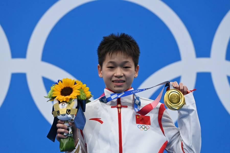 Tokio 2020 I Con niña de 14 años, China obtiene dos 10 en plataforma de 10m