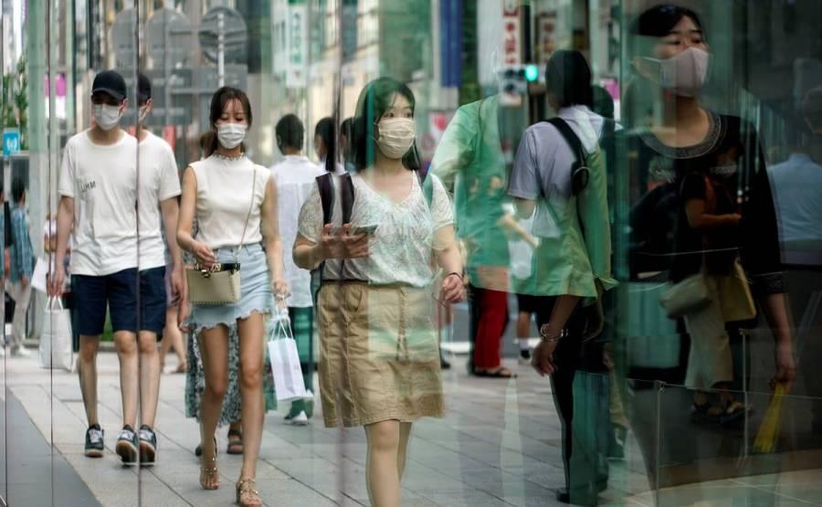 Récord de casos de Covid-19 en Tokio con más de 5,000 nuevas infecciones