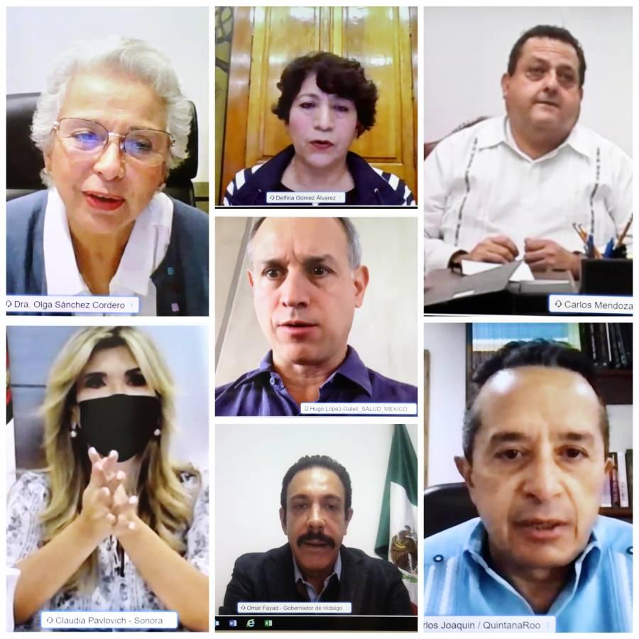 SEP dialoga con representaciones sindicales del país para un regreso seguro a escuelas