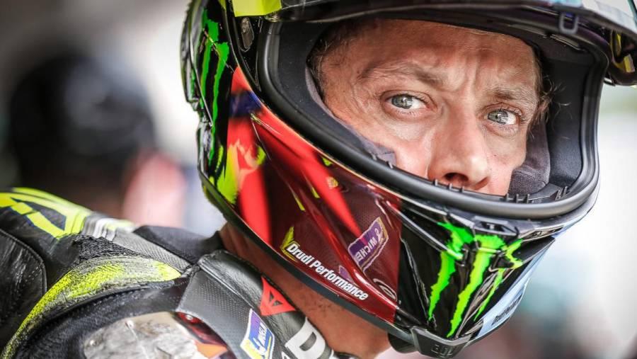 El piloto italiano de MotoGP Valentino Rossi se retira