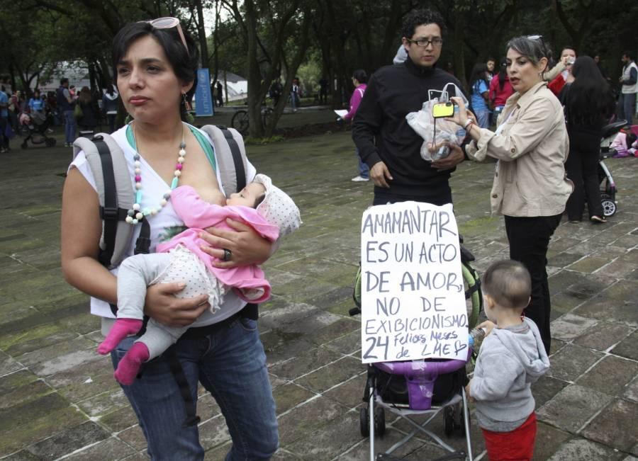 Madres con Covid pueden amamantar a sus bebés: InPer