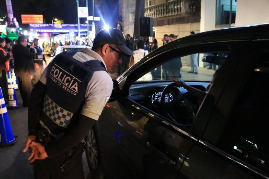 CDMX quitará licencias a conductores drogados o alcoholizados