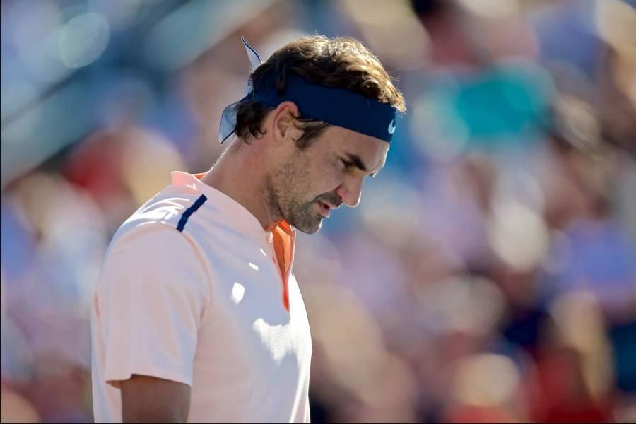 Roger Federer se retira del Masters de Cincinnati