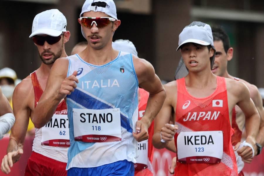 Tokio 2020   Massimo Stano gana el oro en los 20 km marcha; Andrés Olivas termina 11