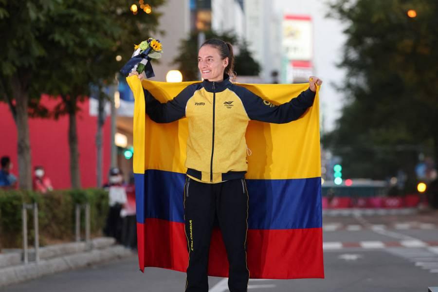 Tokio 2020 | Sandra Arenas conquista una plata histórica para la marcha colombiana