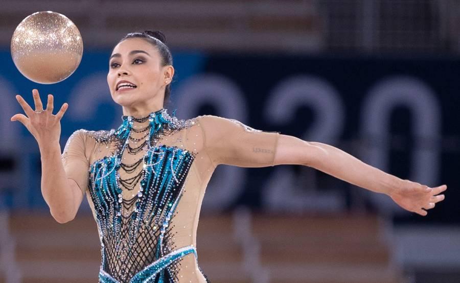 """Tokio 2020   Así fue rutina de Rut Castillo con """"El Triste"""" en gimnasia artística"""