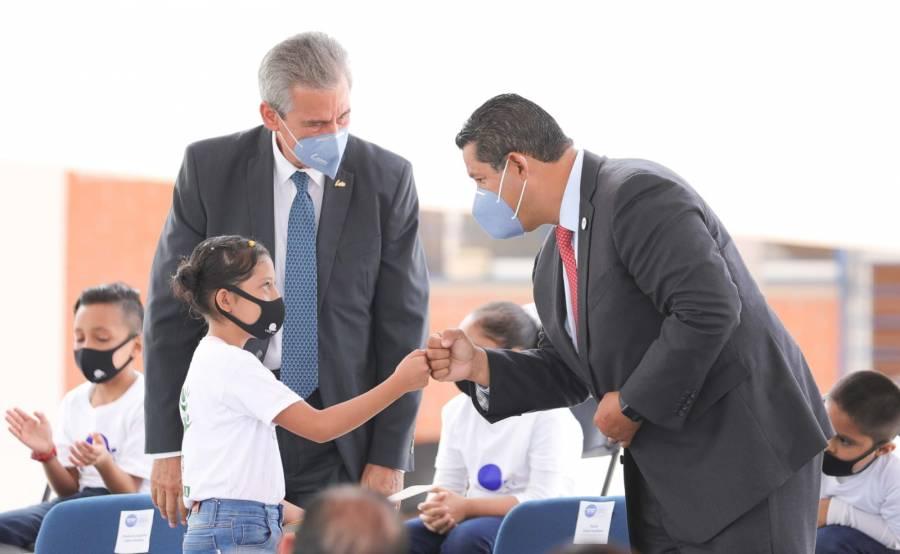 Diego Sinhue entrega la Primera Etapa del CIPEC