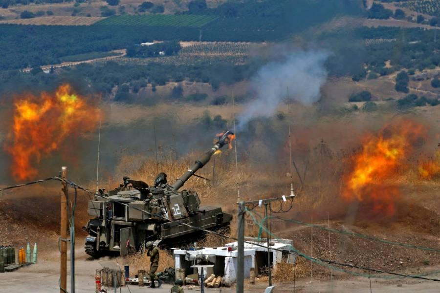 Grupo Hezbolá lanza cohetes contra Israel