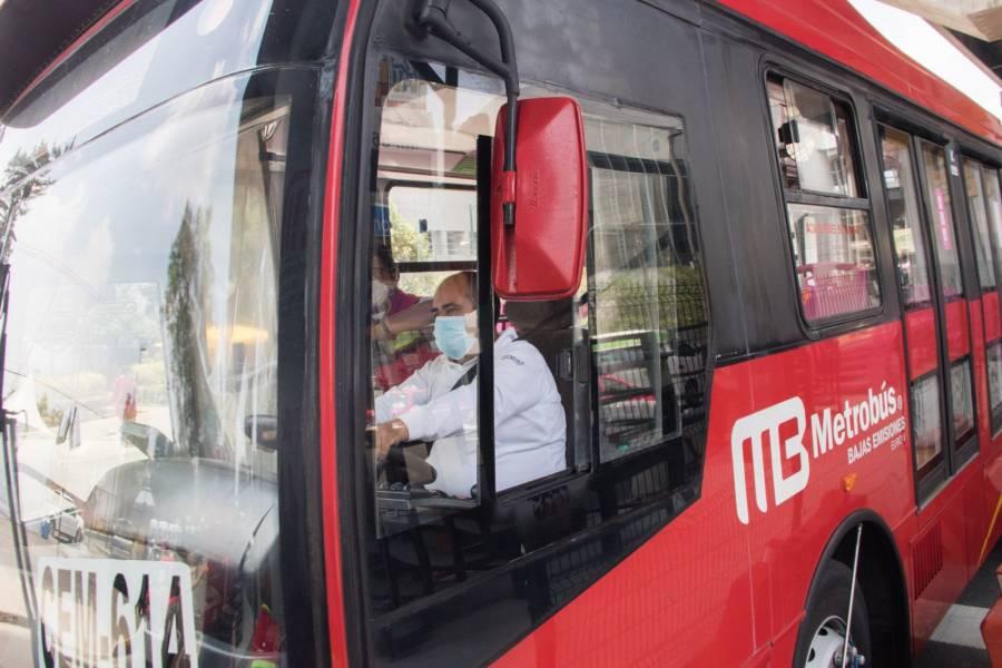 Metrobús cerrará escalonadamente estaciones de la Línea 1