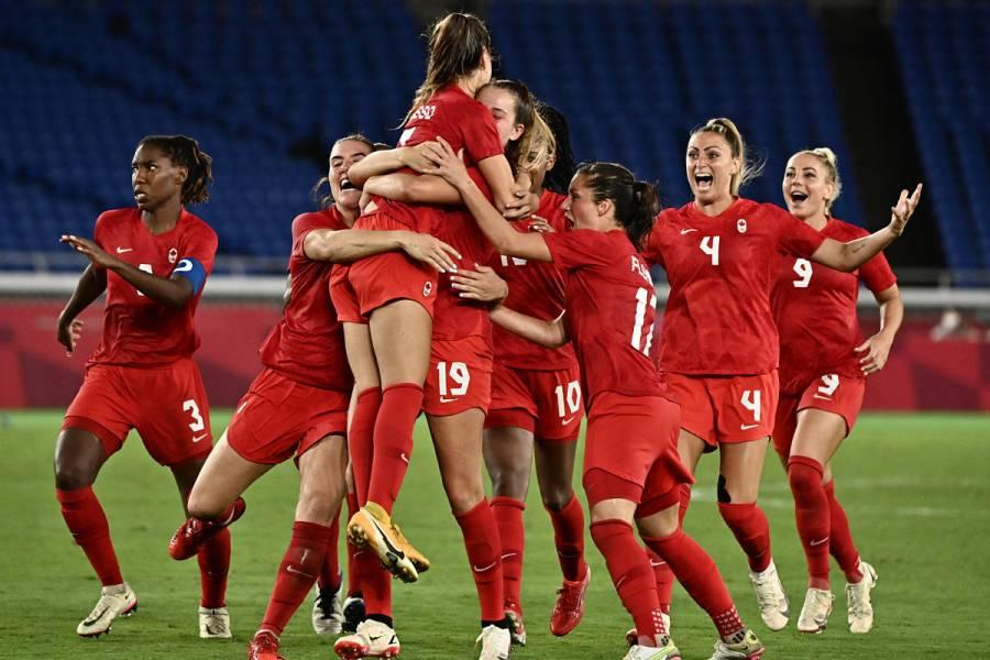 Tokio 2020 | Canadá vence a Suecia y se baña en oro en fútbol femenino