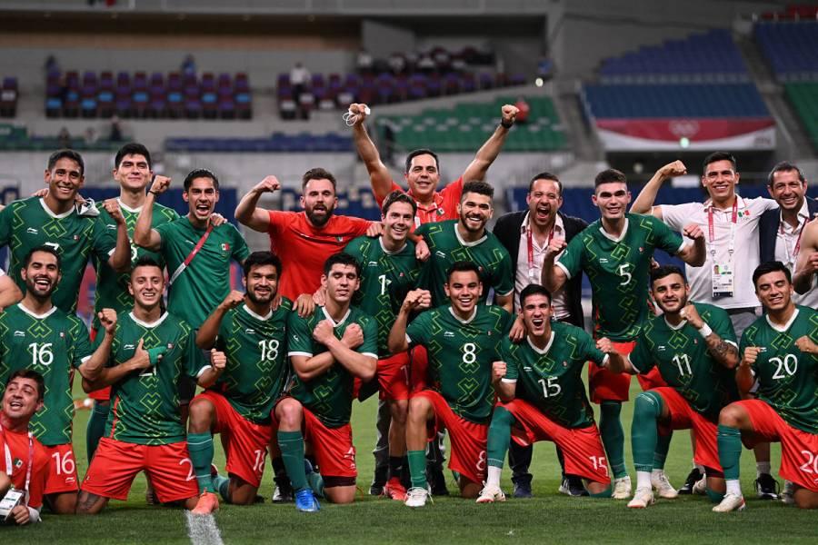 México se cuelga el bronce en fútbol tras imponerse a Japón en Tokio 2020