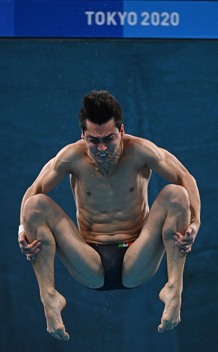 Andrés Villarreal clasifica a la semifinal de plataforma individual en Tokio 2020