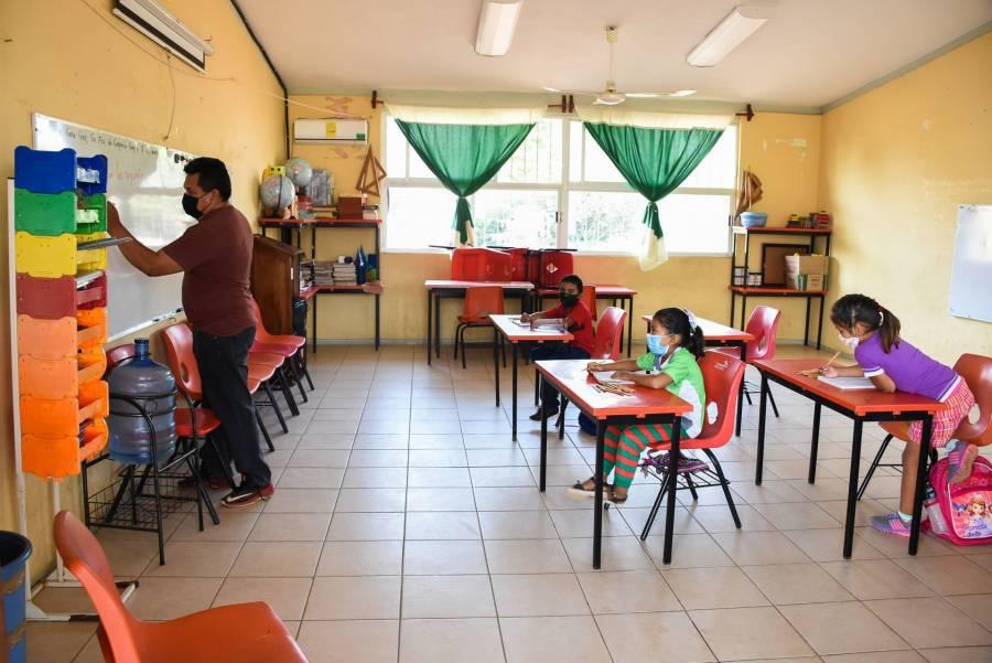 La educación es actividad esencial: Clases en la SEP regresan presencialmente